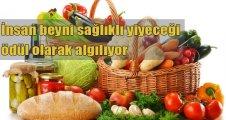 Sağlıklı gıdayı ödül olarak algılıyor