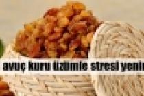 Kuru üzümle stresi yenin