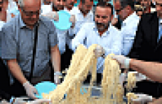 İzmit'te Pişmaniye Festivali coşkusu