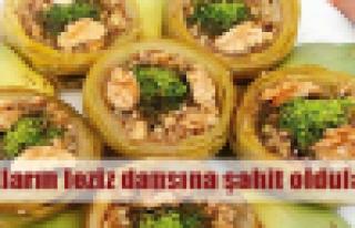 Alaçatı'da otlu lezzetler yarıştı