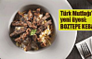 Bayram misafirlerine Boztepe Kebabı