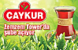 Çaykur Zemzem Tower'da şube açıyor