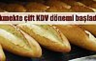 Ekmekte çift KDV uygulaması başladı
