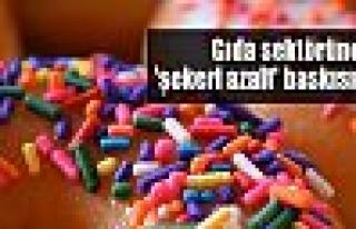 Gıda sektörüne 'şekeri azalt' baskısı