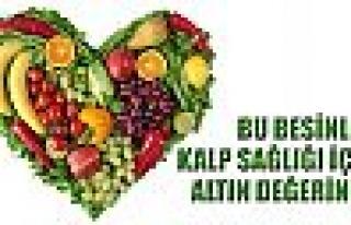 Kalp sağlığı için altın besinler