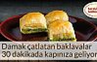 Karaköy Güllüoğlu 'net'te şube açtı!