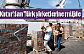 Katar'dan Türk şirketlerine müjde