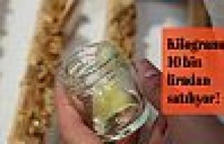 Kilogramı 10 bin liradan satılıyor