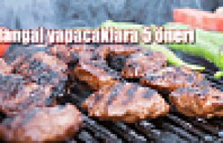 Mangal keyfi için 5 altın öneri