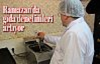 Ramazan'da gıda denetimleri artıyor