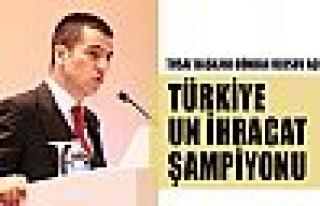 Türkiye, dünya un ihracat şampiyonu