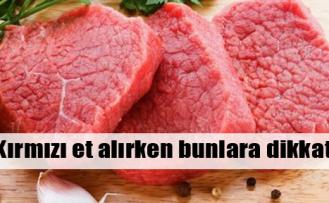 Et satın alırken bunlara dikkat!