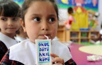 Özel okullarda da süt dağıtılacak