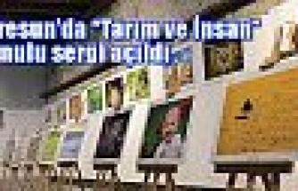 Giresun'da Tarım ve İnsan sergisi açıldı