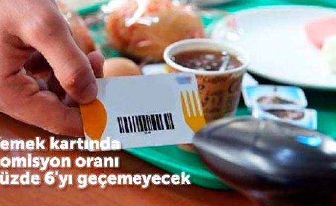 Yemek kartı komisyon oranı şaşırttı